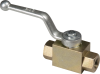 "1/2"" NPT 2-Way High Pressure Ball Valve -- 8317943 - Image"