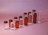 Amber Capsule Vials/Teflon Lined Polypropylene Caps -- V2757A-TFE