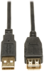 16-ft. USB 2.0 Gold Extension Cable (USB A M/F) -- U024-016 - Image