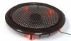250mm Silent Case Fan - Red LED -- 31018
