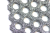 Perforated Slip Resistant Plate -- Galvanized