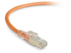 15FT Orange CAT6 250MHz Patch Cable F/UTP CM Locking Snagless -- C6PC70S-OR-15 - Image