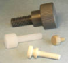 Thumb Screws -- Knurled with Shoulder Washer Face