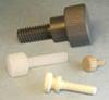 Thumb Screws -- Knurled Thin Thumb Screws -- View Larger Image