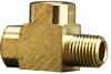 Fisnar 560945 Brass Street T Connector 0.25 in NPT Male x 0.25 in NPT Female -- 560945 -Image