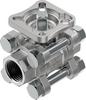 Ball valve -- VZBE-1/2-T-63-T-2-F0304-V15V15 -- View Larger Image