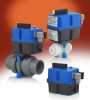 Series EBVA Electric Ball Valve Actuators -- EBVA037V-CP