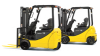 Electric Three Wheel Forklift, Komatsu -- AM50