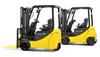 Electric Four Wheel Forklift, Komatsu -- AE50
