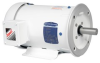 White Washdown AC Motor, 0.33 HP