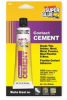 Contact Cement,Acrylic,1 Oz Tube,Clear -- 3EHR7