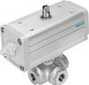 Ball valve actuator unit -- VZBA-1/4