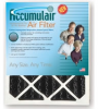 Accumulair 1 Inch CARBON Filters -- FO25X28X1A