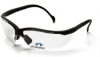 +1.0 Black Frame/Clear Lens V2 Readers -- 2187 - Image