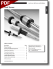 Ball Screws and Lead Screws - Thomson V-Thread Lead Screws - Burnished Finish 303 Stainless Steel -- V-Thread Screws