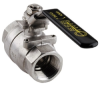 Banjo 316 Stainless Steel Two Piece Ball Valves -- 30906 - Image