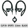 Able Planet SP252 Sports Earphones - Chrome Housing, Lightwe -- SP252