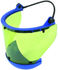 DEHNcare® Esh and Aps: Arc-Fault-Tested Face Shield with Strap and Chin Protector -- 785 749