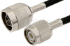 N Male to TNC Male Cable 24 Inch Length Using PE-C200 Coax -- PE36067-24 -Image