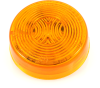 """2"""" Sealed Round LED Clearance/Marker Light 47763, Amber Lens -- 47763 -- View Larger Image"""