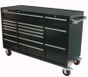 Rolling Cabinet,60 x 24 x42 In,16 Dr,Blk -- 13H106