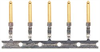 Crimp & Poke Male Pins - Gold Flash, Reel/100 -- CPM100 - Image