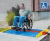 Cross-Guard® ADA Ramps and Rails -- CPRP-5GD-BLU