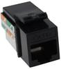 Construct Pro™ Cat5e Keystone Jack (Black) -- CON3024K