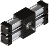 Dual Rack Three Position Rotary Actuator -- A22