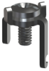 Low Profile 8-32 Thread-w/ Screw Assembled -- 1209 - Image