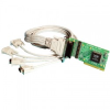 4 Port RS232 Low Profile PCI Serial Port Card DB9 -- UC-260