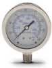 0-160 psi Liquid filled Pressure Gauge with 2.5 inch mechanical dial -- G25-SL160-4LS - Image