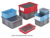 DividerPak II - Divider Box Containers -- HDC1035-GY -Image