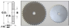 Hubless Roller Chain Sprockets (inch) -- A 6C 7-25051 -Image