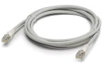 Patch cable, CAT5, assembled, 0.24 m