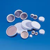 Fisherbrand White Polypropylene Caps with PTFE Liners -- hc-02-912-075