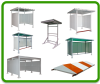 Instrument Racks, Sheds & Canopies -- View Larger Image