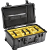 Pelican 1510SC Studio Case with Padded Dividers - Black | SPECIAL PRICE IN CART -- PEL-015100-0070-110 -Image