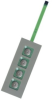 4 and 16 Key Non-illuminated Keypads -- FM-Series - Image