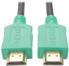 High-Speed HDMI Cable with Digital Video and Audio, Ultra HD 4K x 2K (M/M), Green, 10 ft. -- P568-010-GN -- View Larger Image