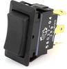 Littelfuse 58027-04 Sealed Rocker Switch, (On)-Off-(On), SPDT, 25A -- 44284 -Image