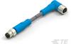 M8/M12 Cable Assemblies -- T4052124004-004 -Image