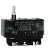 MICRO SWITCH DT Series Standard Basic Switch, Double Pole Double Throw Circuitry, 10 A at 250 Vac, Straight Plunger Actuator, 3,34 N to 5,56 N [12.0 oz to 20.0 oz] Operating Force, Screw Termination -- DT-2RS1-A7 -Image