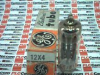 GENERAL ELECTRIC 12X4 ( TUBE ELECTRONIC VACUUM TWIN DIODE 12.6VAC/DC 7PIN ) -- View Larger Image