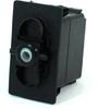 Carling Technologies VJD1S00B-00000-000 Unlit, DPDT, On-Off-On, 12V/20A Rocker Switch -- 44323 - Image