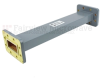 WR-137 Waveguide Section 9 Inch Length Straight Using CPR-137G Flange With a 5.85 GHz to 8.2 GHz Frequency Range in Commercial Grade -- SMF137SA-09 - Image