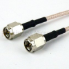SMA Male (Plug) to SMA Male (Plug) Cable M17/113-RG316 Coax Up To 3 GHz, 1.35 VSWR in 36 Inch -- FMC0202316-36 -Image