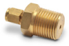 Brass Compression Fitting for 1/8 inch diameter temperature probes -- BCF18-50N