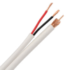 Skyline™ PLENUM RG-59 w/ 18 Gauge Power Cable (UL), 500ft Box (White) -- SKL1271
