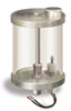 "Reservoir with Filter and Low Level Safety Switch, 1 qt Pyrex Reservoir, 3/8"" Male NPT -- B3177-52 -Image"